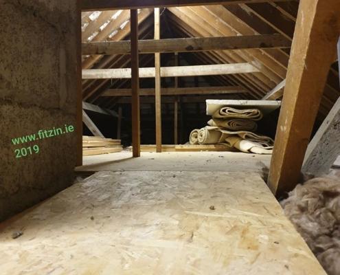 Fitzsimons Insulations Attic work